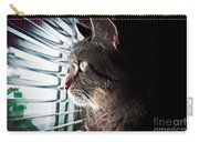 Cat Looking Out Window Carry-all Pouch