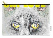 Cat Love Yellow Work Carry-all Pouch