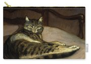 Cat On A Chair Carry-all Pouch