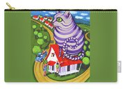 Cat On A Red Tin Roof Carry-all Pouch