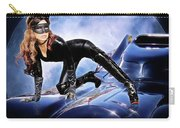 Cat On Bat Mobile Carry-all Pouch
