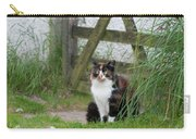 Farm Cat On Duty Carry-all Pouch