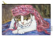 Tabby Cat With Yellow Eyes Carry-all Pouch