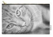 Cat Portrait Carry-all Pouch