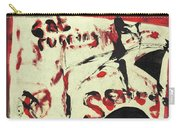 Cat Running Scared 5 Carry-all Pouch