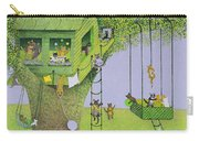 Cat Tree House Carry-all Pouch