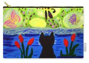 Cat Tv  Watching Bugs Carry-all Pouch