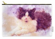Cat Watercolor Carry-all Pouch