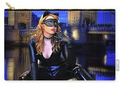 Cat Woman In London Carry-all Pouch