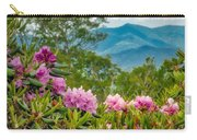 Catawba Rhododendron At The Craggy Carry-all Pouch