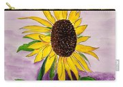Catching A Sunflower  Carry-all Pouch