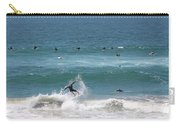Catching Air In Huntington Beach California Carry-all Pouch