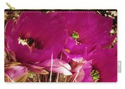 Catcus Flower Carry-all Pouch