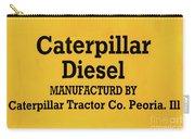 Caterpillar D2 Bulldozer 08 Carry-all Pouch