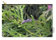 Caterpillar On Branch Carry-all Pouch