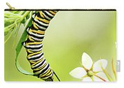 Caterpiller On Plant Carry-all Pouch