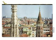 Cathedral And Campanile Milan Italy Carry-all Pouch