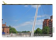 Cathedral Green Bridge At Derby Carry-all Pouch