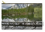 Cathedral Group Reflection On String Lake Carry-all Pouch