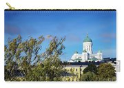 Cathedral Landmark And Central Helsinki View In Finland Carry-all Pouch