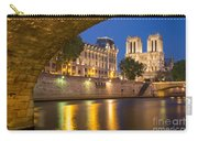 Cathedral Notre Dame And River Seine - Paris Carry-all Pouch