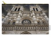 Cathedral Notre Dame Of Paris. France   Carry-all Pouch