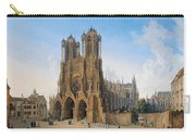 Cathedral Of Notre-dame At Reims Carry-all Pouch