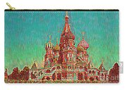 Cathedral Of St. Basil, Moscow Russia Carry-all Pouch