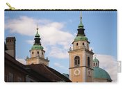 Cathedral Of St Nicholas In Ljubljana Carry-all Pouch