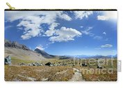 Cathedral Peak Over Waterton Valley Trail - Glacier National Park Carry-all Pouch