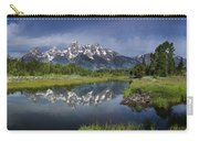 Grand Teton Cathedral Reflections Carry-all Pouch