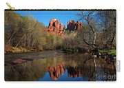 Cathedral Rock Reflection In Oak Creek Carry-all Pouch