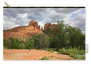 Cathedral Rock With Clouds Carry-all Pouch