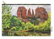 Cathedral Rocks In Crescent Moon Park Carry-all Pouch