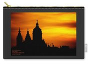 Cathedral Silhouette Sunset Fantasy L A Carry-all Pouch