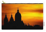 Cathedral Silhouette Sunset Fantasy L B Carry-all Pouch