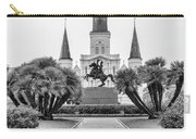 Catholic Basilica Jackson Sq Andrew Jackson New Orleans  Carry-all Pouch