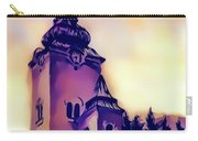 Catholic Church Building, Architectural Dominant Of The City, Graphic From Painting. Carry-all Pouch