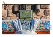 Catholic Cross Closeup Carry-all Pouch