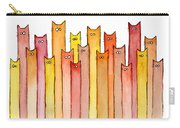 Cats Autumn Colors Carry-all Pouch