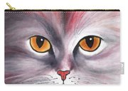 Cat Eyes Red Carry-all Pouch