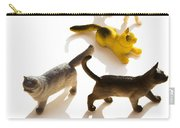 Cats Figurines Carry-all Pouch