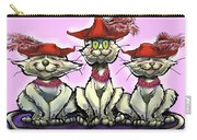 Cats In Red Hats Carry-all Pouch