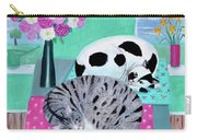 Cats In Spring Carry-all Pouch