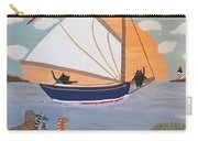 Cats On Cat Boat Carry-all Pouch