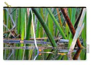 Cattail Reflections Carry-all Pouch