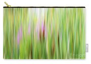 Cattails And Flowers Carry-all Pouch