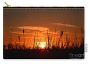 Cattails And Twilight Carry-all Pouch