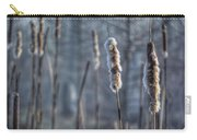 Cattails In The Winter Carry-all Pouch