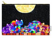 Catting In The Moonlight Carry-all Pouch